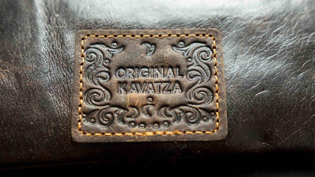 tabaquera cuero original kavatza